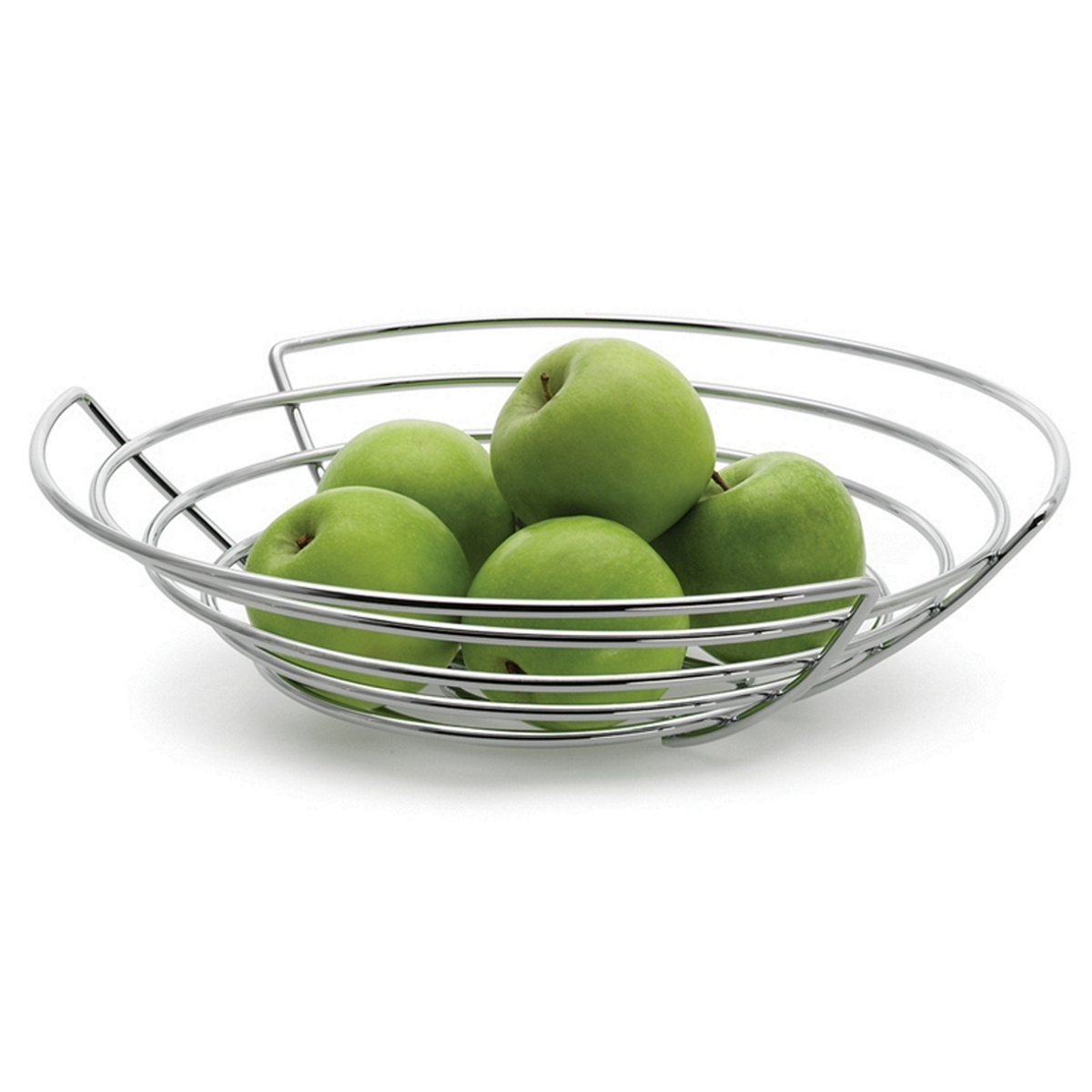 Wire Fruit Bowl | Wide Wire Fruit Bowl At Contemporary Heaven Uk
