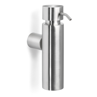 Blomus Brushed Stainless Steel Wall Soap Dispenser