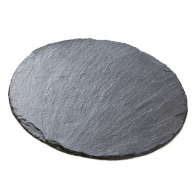Natural Hand Cut Round Slate Placemats