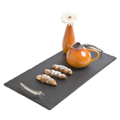 Natural Hand Cut Large Slate Serving Tray