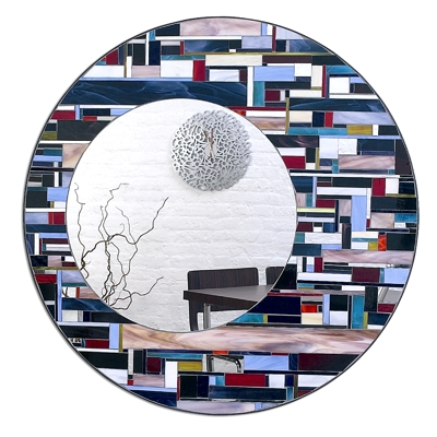 Piaggi Coloured Eclipse Mirror