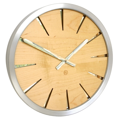 Roco Verre Maple Empire Clock