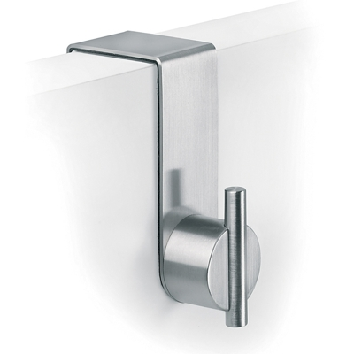 Blomus Brushed Stainless Steel Over Door Hook