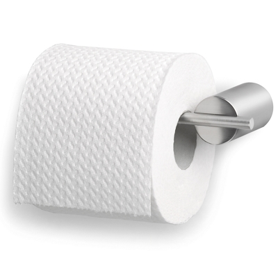 Blomus Brushed Stainless Steel Toilet Roll Holder