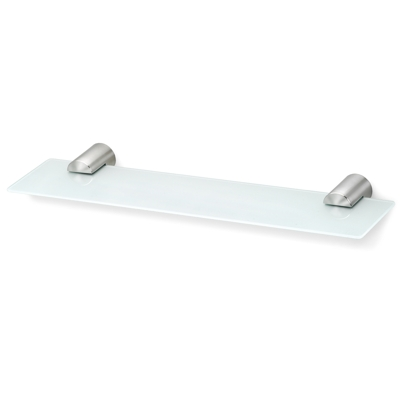 Blomus Stainless Steel and Glass Bathroom Shelf