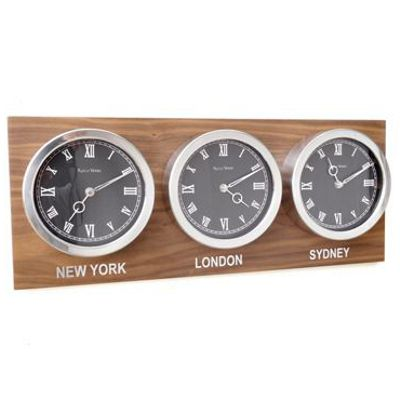 CUSTOM  WORLD TIMEZONE CLOCKS