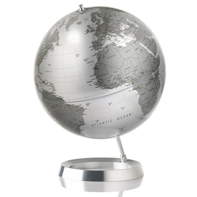 Atmosphere Globes Vision Silver Globe
