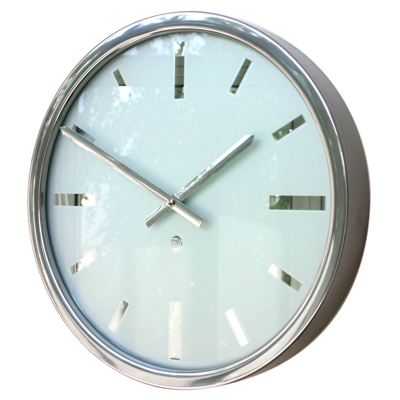 Roco Verre Swiss Empire Polished Clock