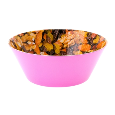 Present Time Fruit And Nut Snack Bowl