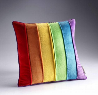 Dreamweavers Rainbow Cushion 45cm x 45cm (18 x 18 inches)