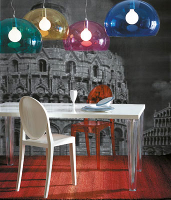 Kartell Victoria Ghost Chair in Situ