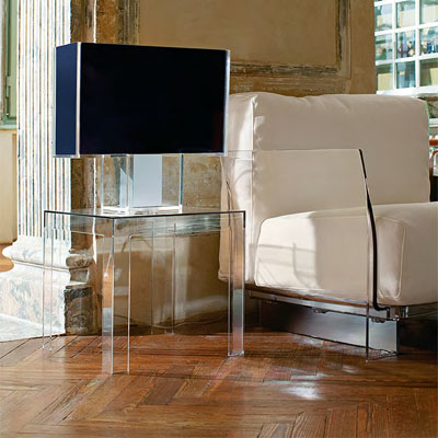 Kartell Jolly Side Table in Situ