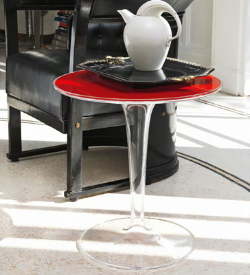 Kartell TipTop Side Table in Situ