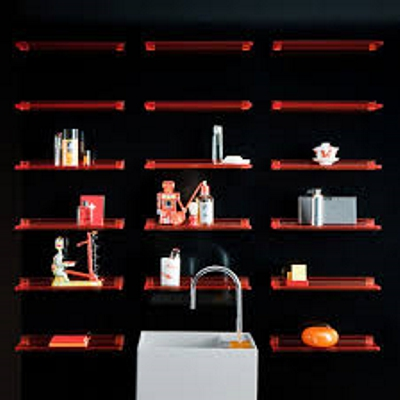Kartell Shelfish Shelf In Situ