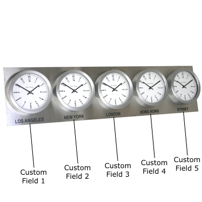 Custom Versions Available In Our Custom Timezone Section