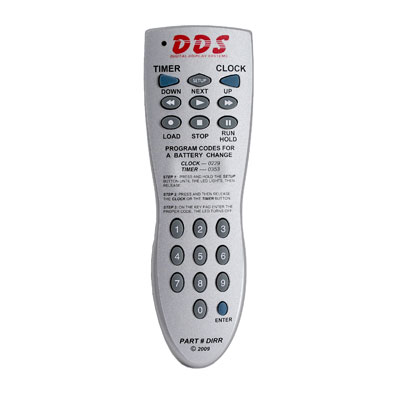 Inlcuded Remote Control