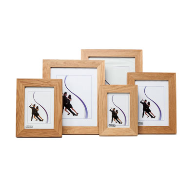 New England Solid Oak Photo Frame