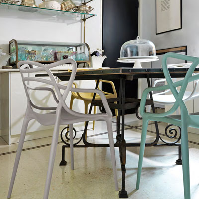 Kartell Masters Chairs in Situ