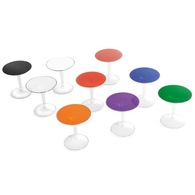 Kartell TipTop Side Tables All Colours