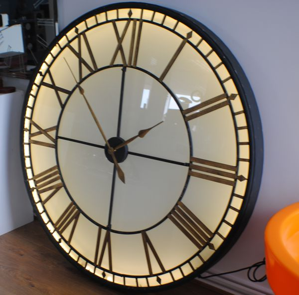 Large wall clock for Giant modern wall clock