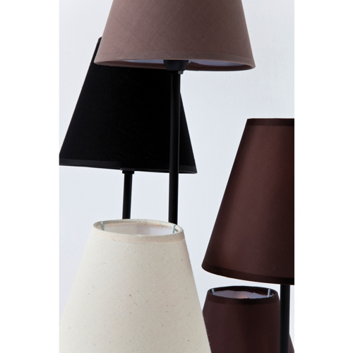 close up of Kare Floor Lamp Flexible Mocca Cinque