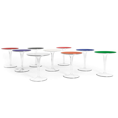Kartell TipTop Side Table All Colours
