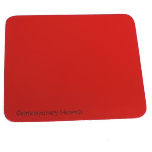 Branded Leather Personalised Custom  Mouse Mat