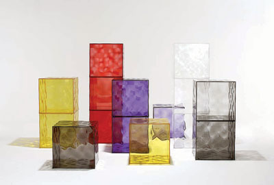 Kartell Optic Container Cube with Door