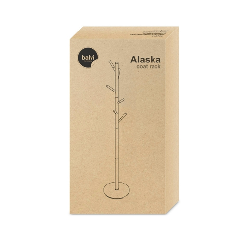Balvi Alaska Coat Rack White Gift Box