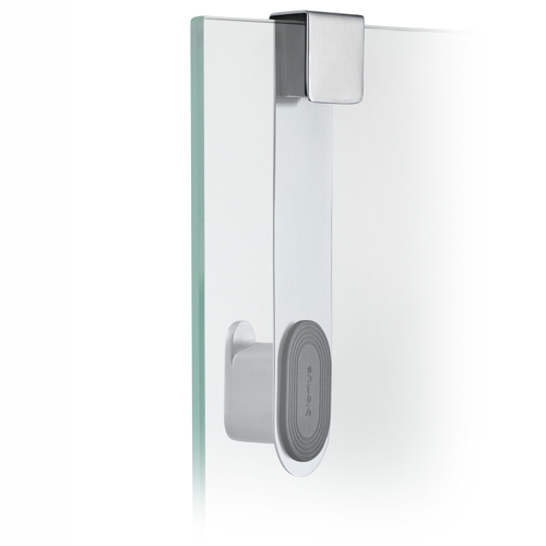 Blomus Areo Brushed Glass Shower Over Door Hook