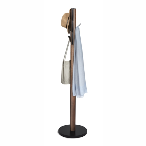 Umbra Flapper Coat and Hat Stand Walnut