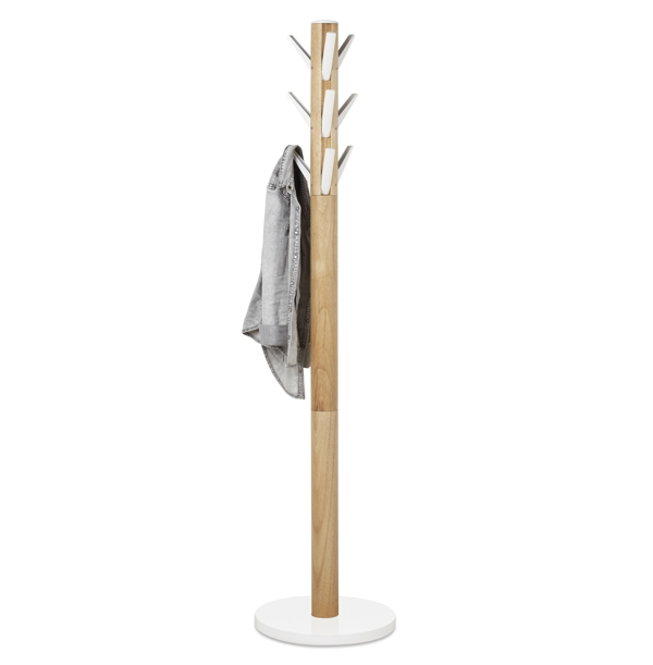 Umbra Flapper Coat and Hat Stand Natural