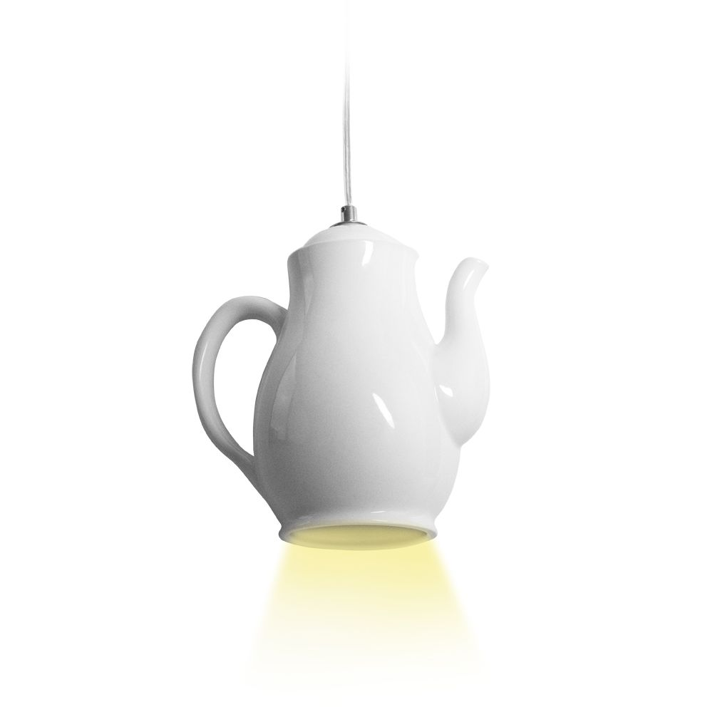 Invotis Coffee Pot Pendant Light
