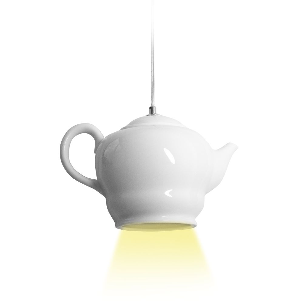 Invotis Teapot Pendant Light