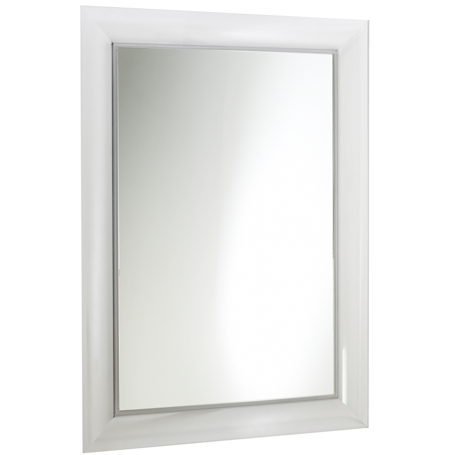Kartell François Ghost Large Wall Mirror H111cm x W88cm White