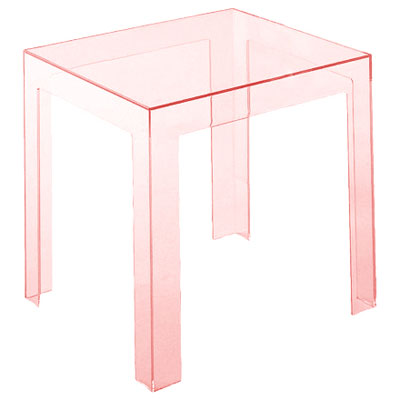 Kartell Jolly Side Table H40cm x W40cm Pink