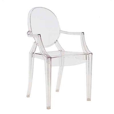 Kartell Louis Ghost Chair H94cm x W55cm Crystal