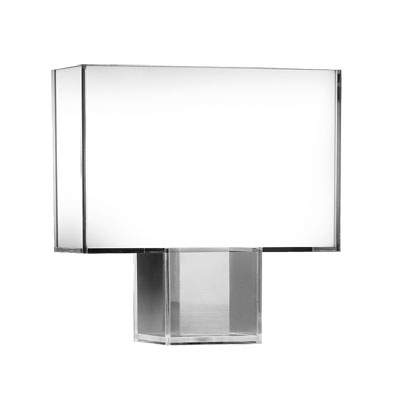 Kartell Tatì Table Lamp H46cm x W47cm x D15cm White