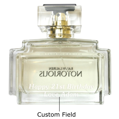 Personalised Ralph Lauren Notorious 75ml EDP Personalised