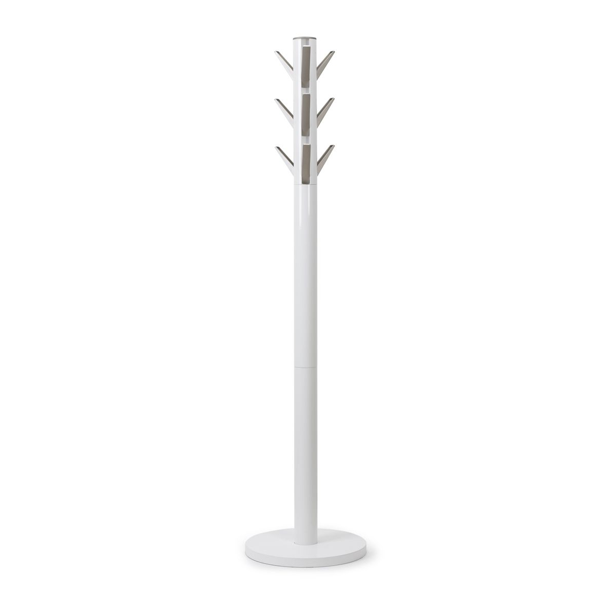 Umbra Flapper Coat and Hat Stand White H165cm x Base 57cm Diameter