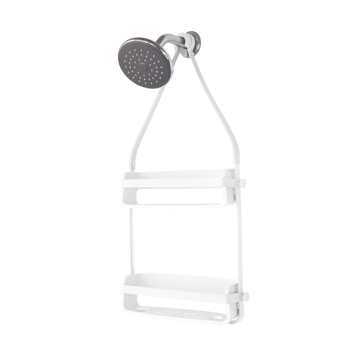 Umbra Flex Shower Caddy White 9.5 x 31.8 x 64.8 cm