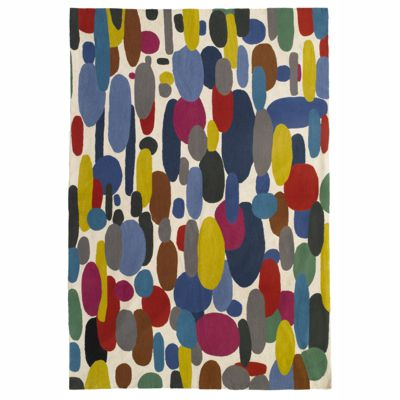 Zaida Multi Coloured Pebbles Rug 180cm x 120cm (6ft x 4ft)