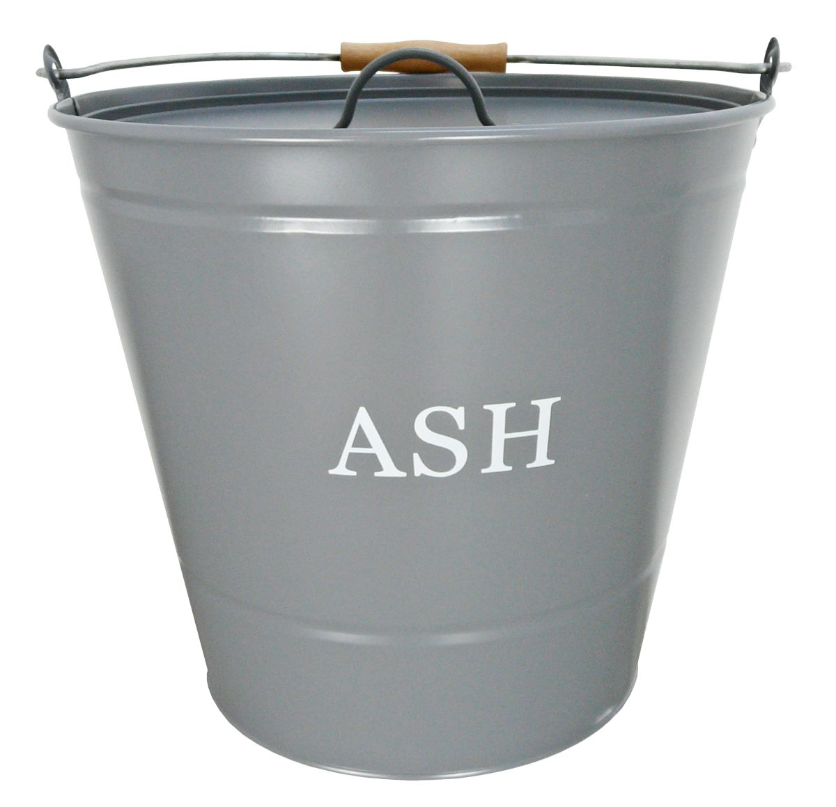 Grey Ash and Kindling Fireside Buckets Ash Bucket ONLY H30cm D32cm