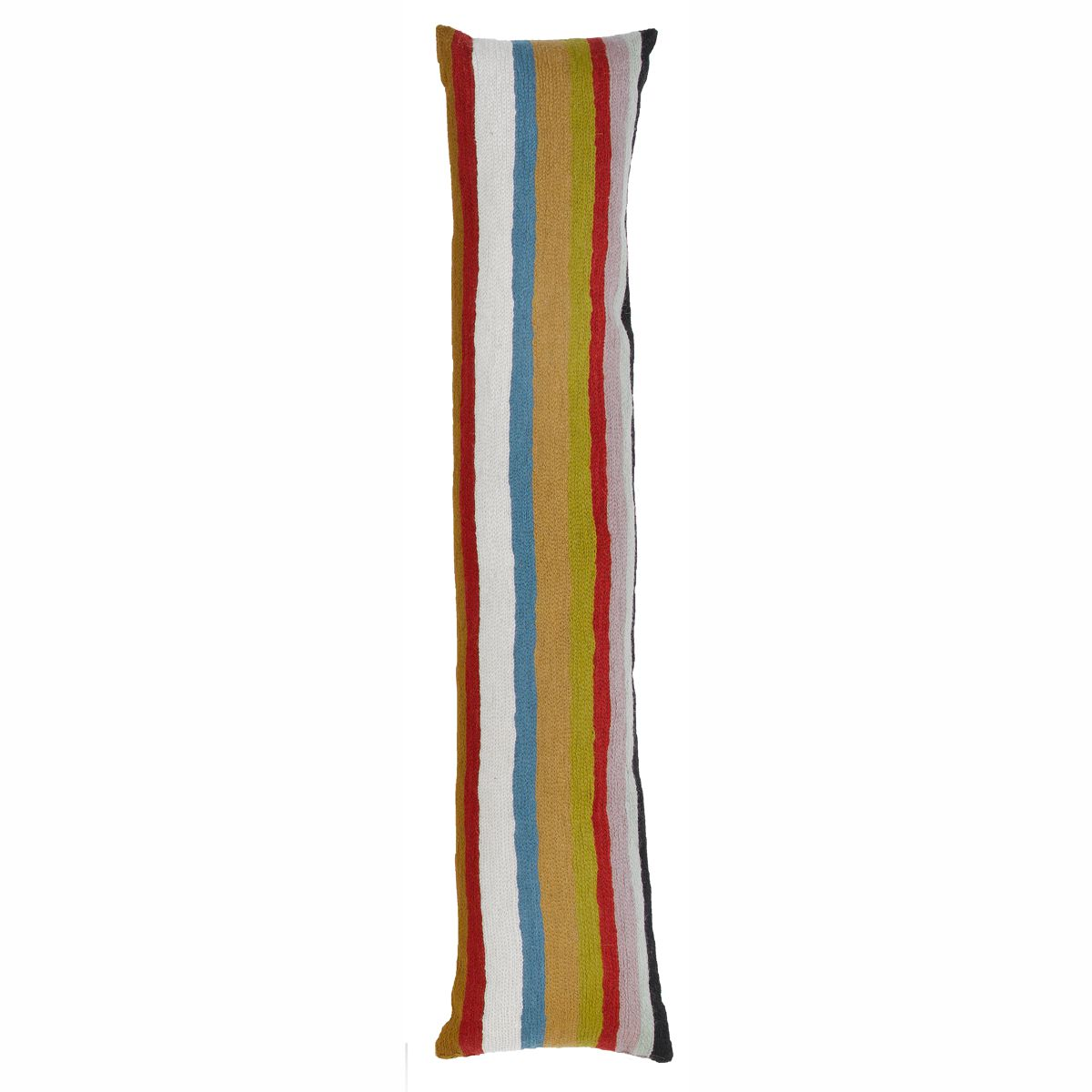Zaida Multi Colour Long Stripe Draught Excluder 90cm x 20cm Diameter